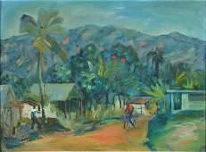 George Paul Hector, Haitian artist, born in 1938,
