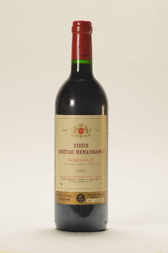 8 bottles of 1995 Vieux Chateau Renaissance