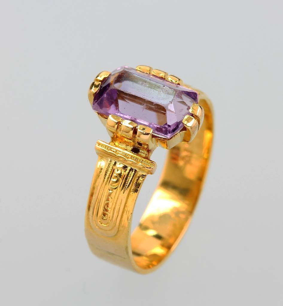 Bandring, YG 585/000, german approx. 1910s, classicism