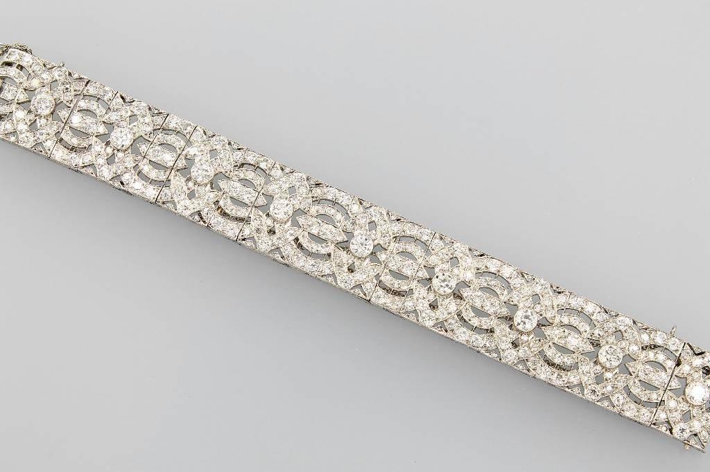 Bracelet, Paris Haute Joaillerie, approx. 1928/30