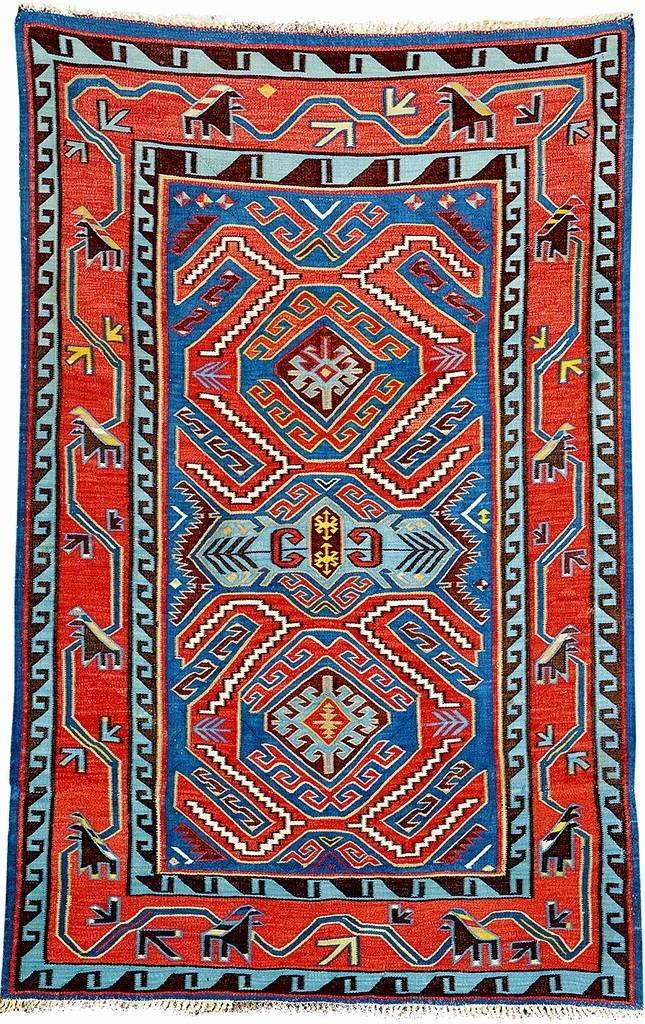 Avar 'Kilim' (Lenkoran-Design), Northeast Caucasus