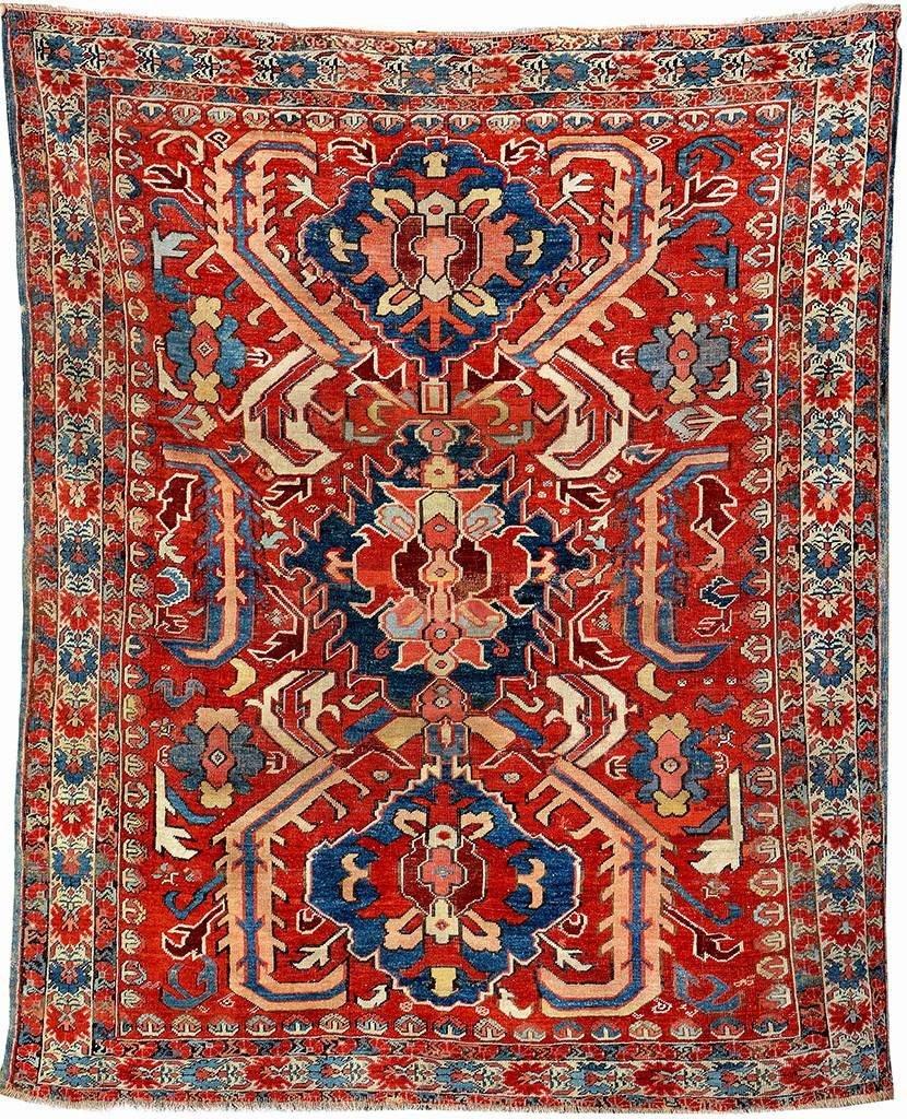 anatolian 'dragon-rug', turkey, 18th
