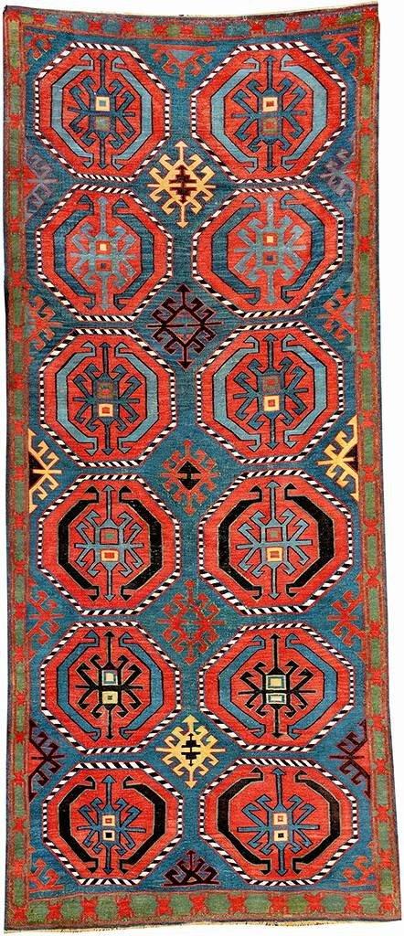 Avar/Davagin 'Kilim', Norteast Caucasus Daghestan, 19th