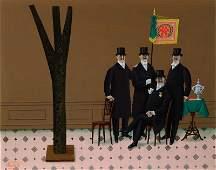 Jan Balet, 1913-2009, 'The jubilee', oil/artist board