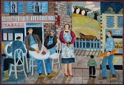 Reg Pepper, born 1931, Tabac, oil/artist board