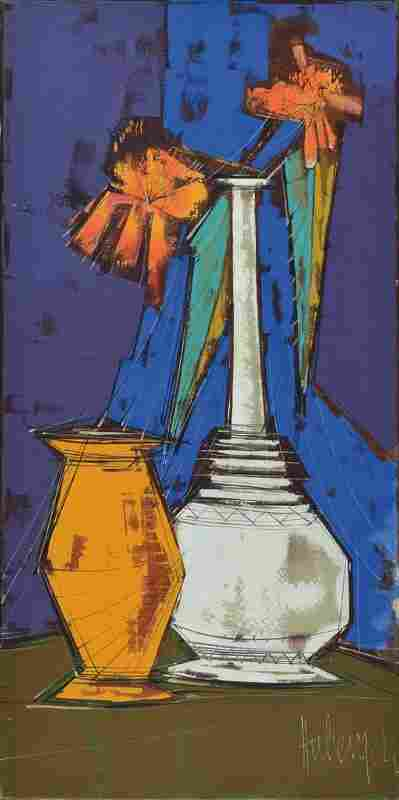 Tugomir Huberger, born 1931, oil on canvas