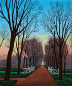 Lucien Vieillard, born 1923, oil/canvas