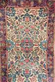 US Kirman Lavar, Persia, circa 1910, wool/cotton,