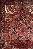 Heriz, Persia, circa 50 years old, wool/cotton, approx