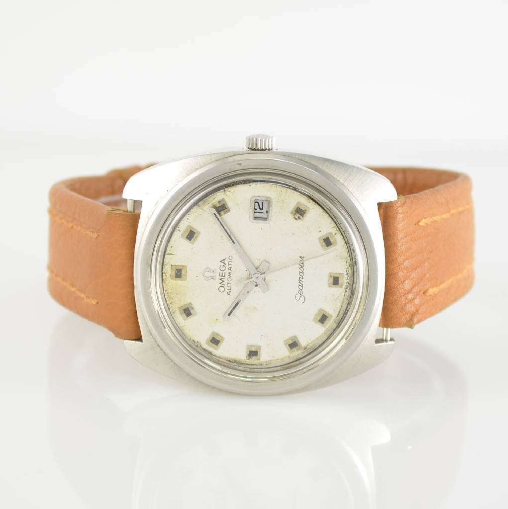 OMEGA Seamaster gent's wristwatch in stainless steel