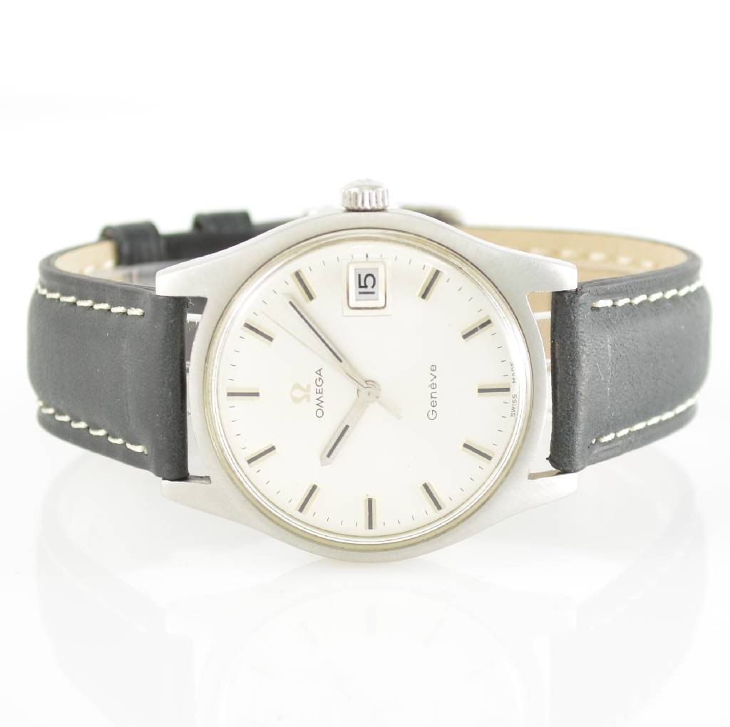 OMEGA Geneve gent's wristwatch, Switzerland around 1969