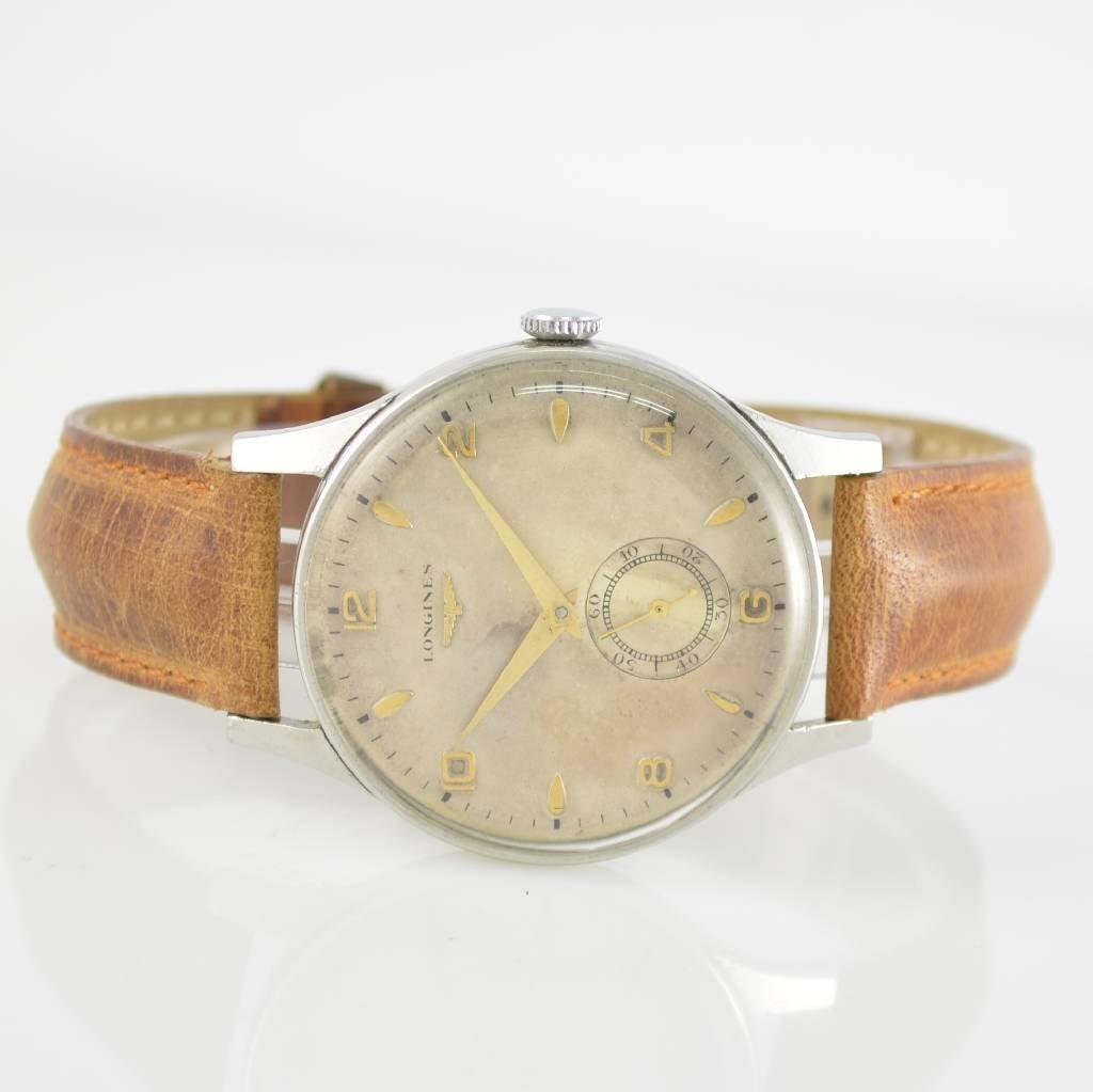 LONGINES gent's wristwatch, manual winding