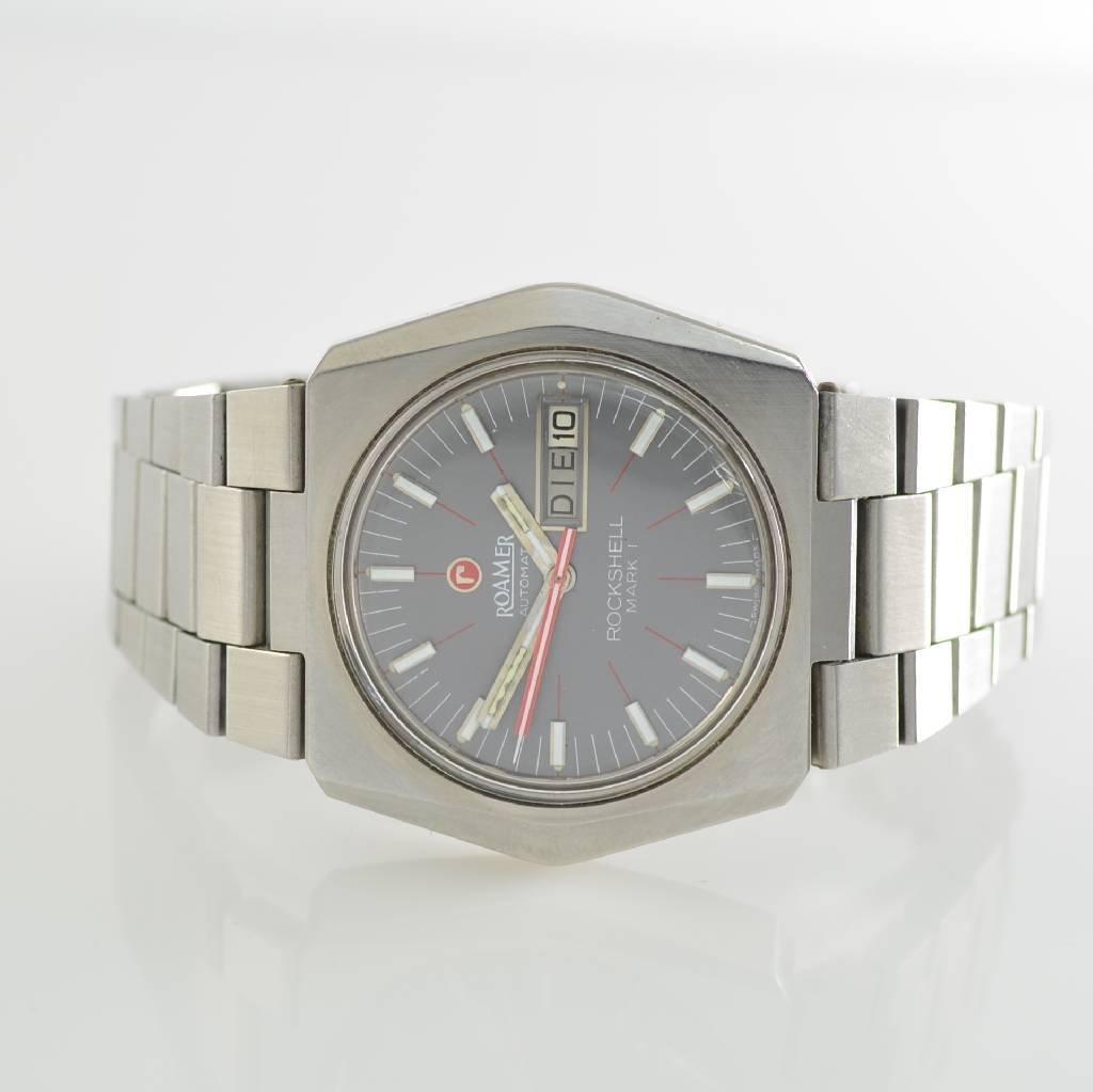 ROAMER gent's wristwatch Rockshell Mark I