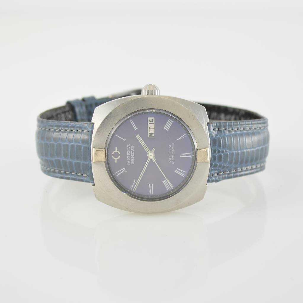 DUGENA Vacuum Automatic gent's wristwatch in steel