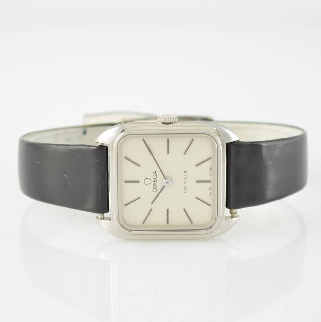 OMEGA stainless steel ladies wristwatch De Ville