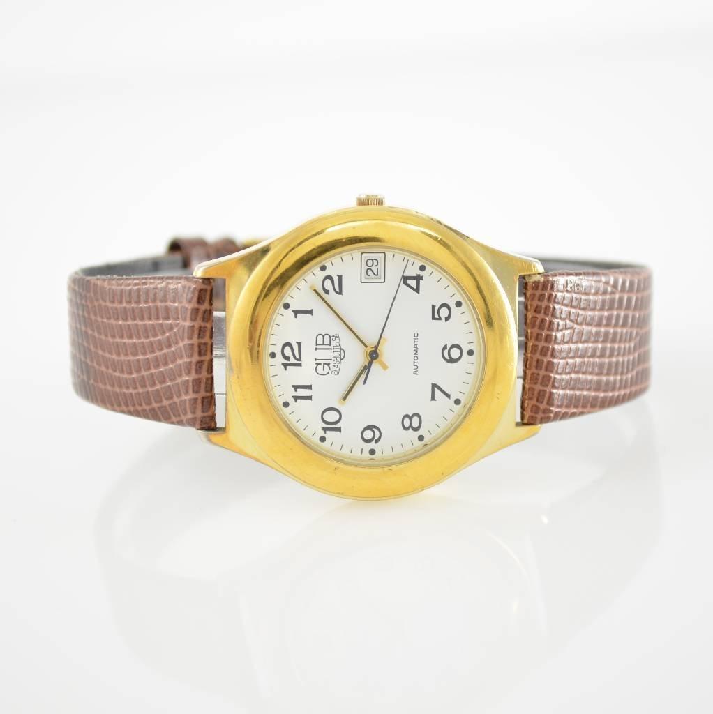 GUB GLASHUTTE/SA self winding wristwatch