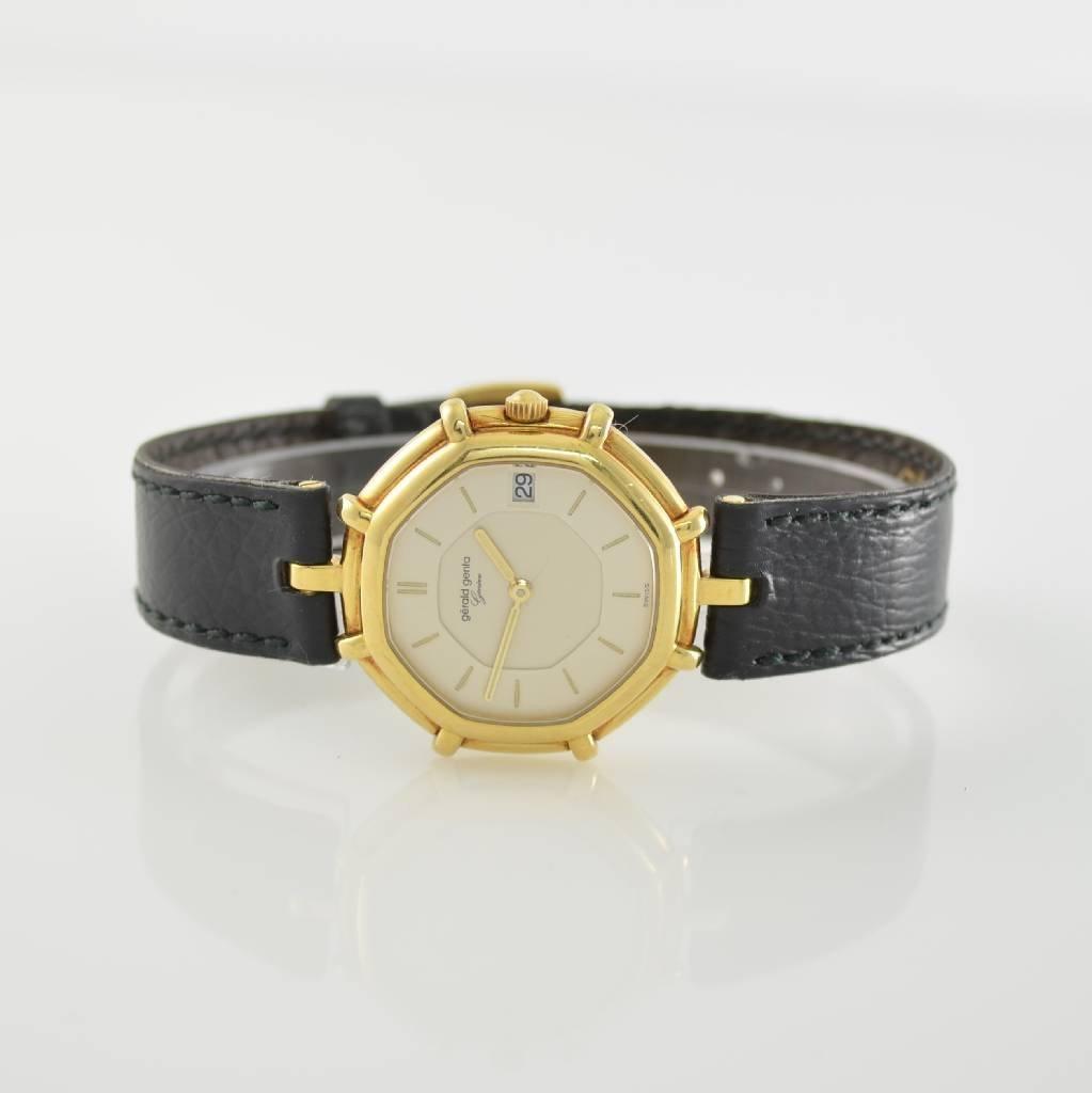GERALD GENTA 18k yellow gold wristwatch