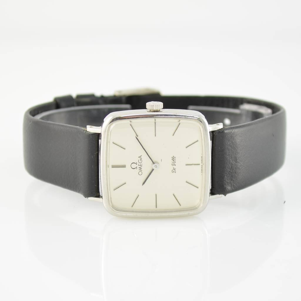 OMEGA stainless stell ladies wristwatch De Ville
