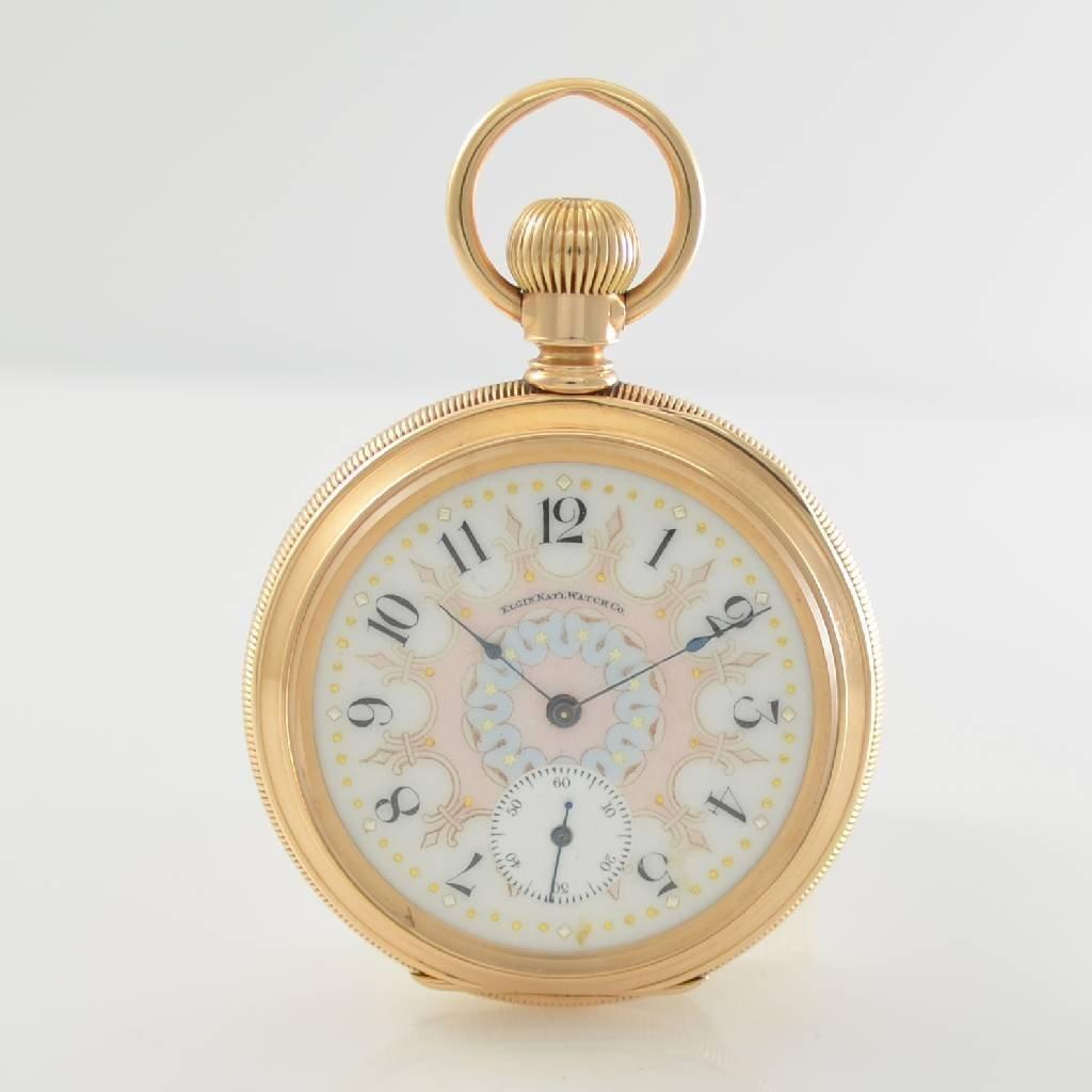 ELGIN NATIONAL WATCH Co. heavy 14k gold pocket watch