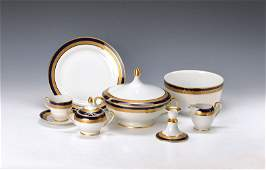 Coffee and dinner set Hutschenreuther