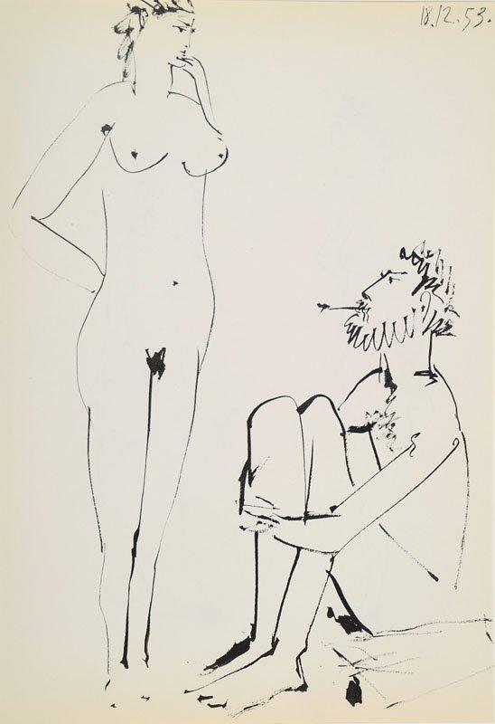 Pablo Picasso, 1881-1973, convolute of four