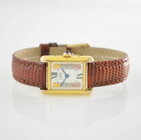 Cartier Ladies Wristwatch Series Tank