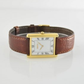 Gucci 18k Yellow Gold Wristwatch, Switzerland Around