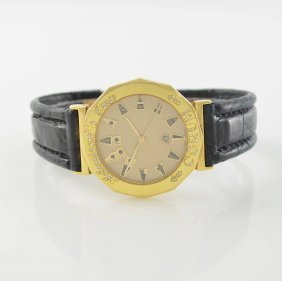 Corum 18k Yellow Gold Wristwatch Admiral´s Cup