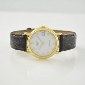 Tissot Carson 14k Yellow Gold Gents Wristwatch