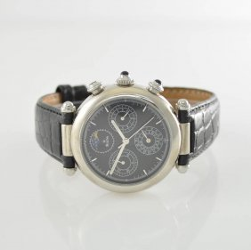 Bulova Chronograph With Date & Moon Phase