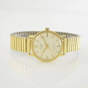 Fama 14k Yellow Gold Gents Wristwatch