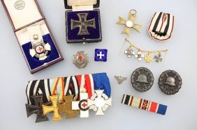 Lot Medals, Thereunder: Clip: Empire And Thirdreich