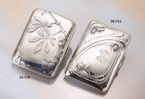 Cigarette Case, 800 Silver,