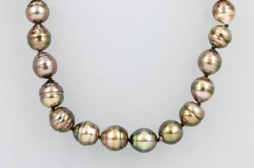 Necklace Made Of Tahitian Cultured Pearls