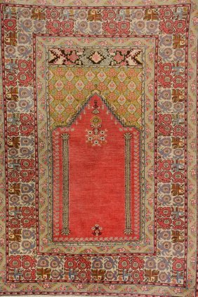 Ghiordes 'prayer-rug',