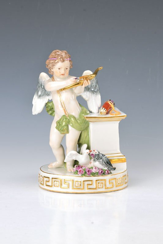 Large group, Meissen, around 1890