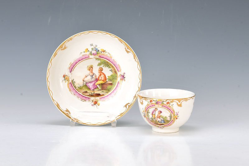 cup with saucer, Haag, around 1780