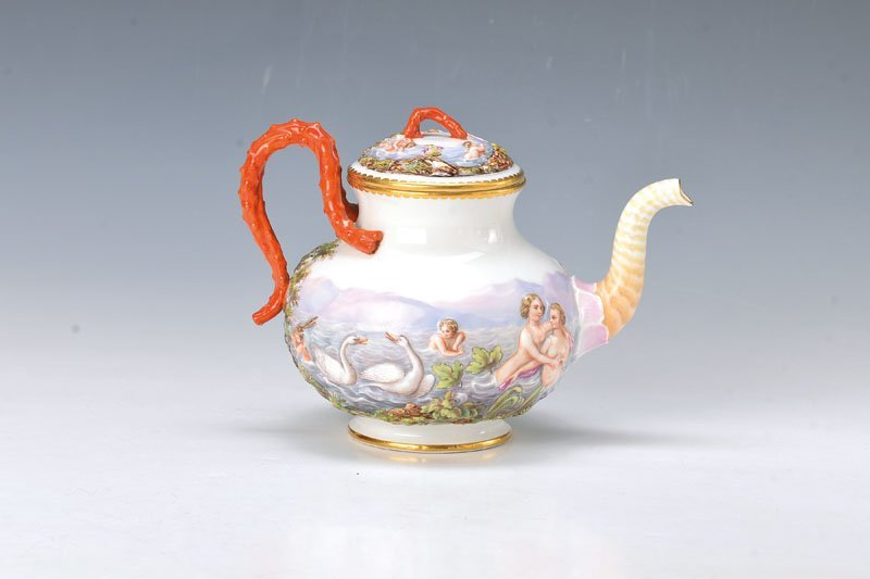pot, Meissen, around 1890