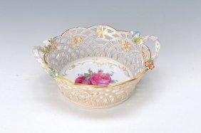 Porcelain Bowl, Kpm Berlin