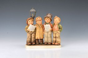 Large Hummel Figurine Group