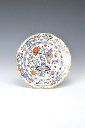 Plate, Meissen, Around 1860