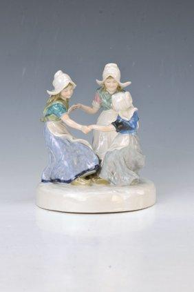 Porcelain Group, Ens, Volkstedt