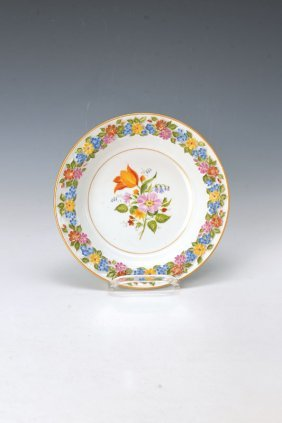 Deep Dish, Meissen, Middle Of 20th C.