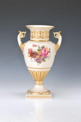 Double Handle Vase, Kpm Berlin