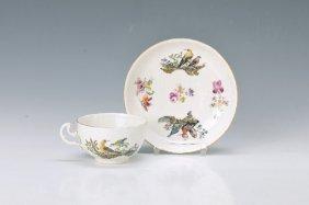 Cup With Saucer, Meissen, Around 1740