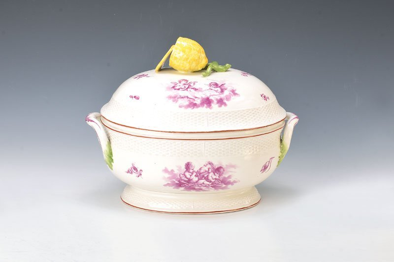tureen, Frankenthal, around 1765