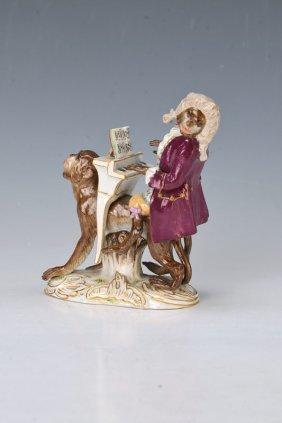 Monkey Band, Meissen, Around 1880