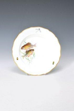 Fish Plate, Meissen, Around 1890