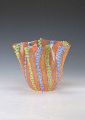 Fazzoletto Vase, Venini Murano
