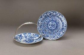 2 Plates, China, Kang Shi